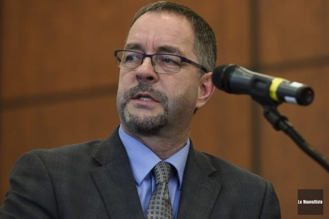 Guy Bourassa, président et chef de la direction... (François Gervais, Le Nouvelliste)