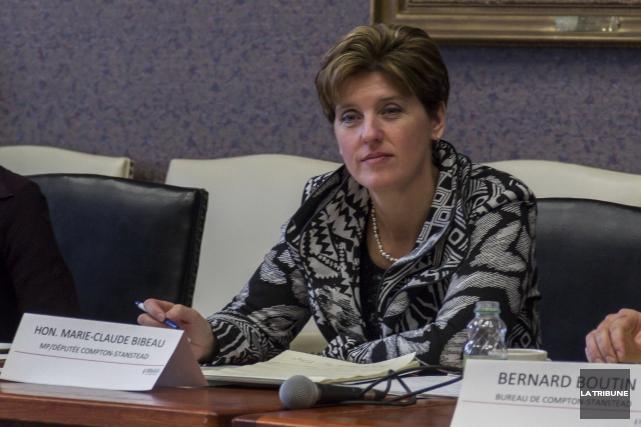Marie-Claude Bibeau est ministre du Développement international et... (Archives, La Tribune)