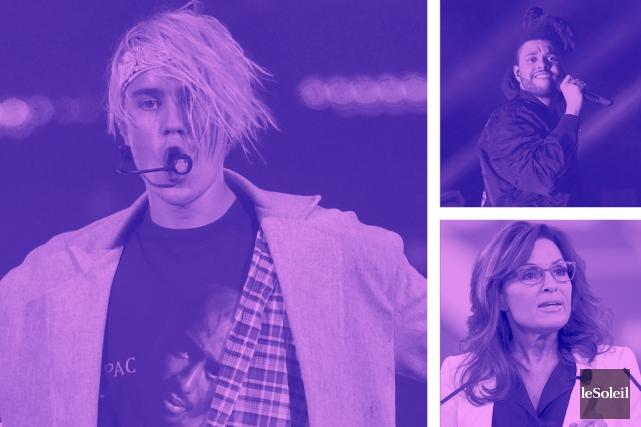 Bieber épuisé par ses fans (Infographie Le Soleil)