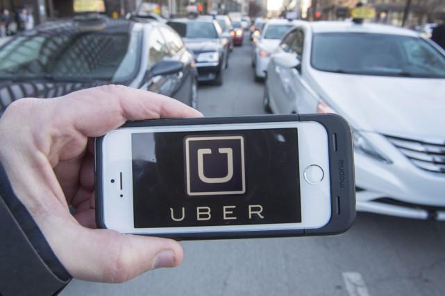 La Cour du Québec durcit le ton face aux chauffeurs Uber récidivistes. Le juge... (La Presse Canadienne, Ryan Remiorz)
