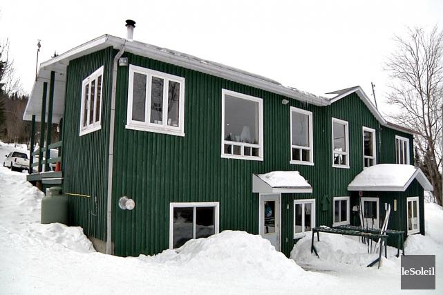 L'actuel bâtiment d'accueil des Sentiers du moulin doit... (Le Soleil, Frédéric Matte)