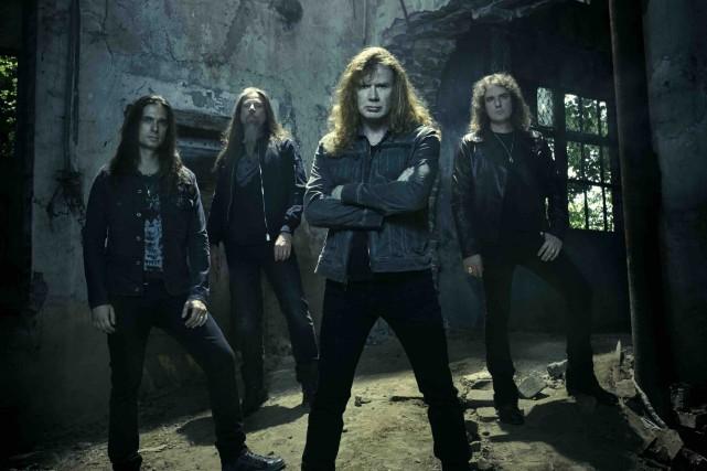 Megadeth trouve essentiel de jouer pour ses fans... (Courtoisie)