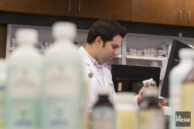 La pénurie de pharmaciens en établissement, à laquelle n'échappe pas... (Ivanoh Demers, Archives La Presse)