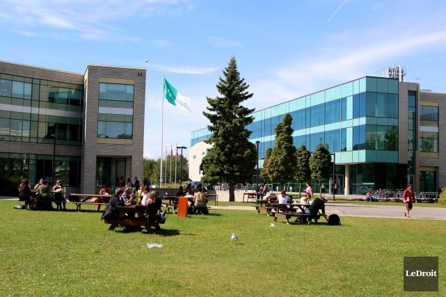 Le campus principal du collège La Cité, à... (Patrick Woodbury, Archives LeDroit)