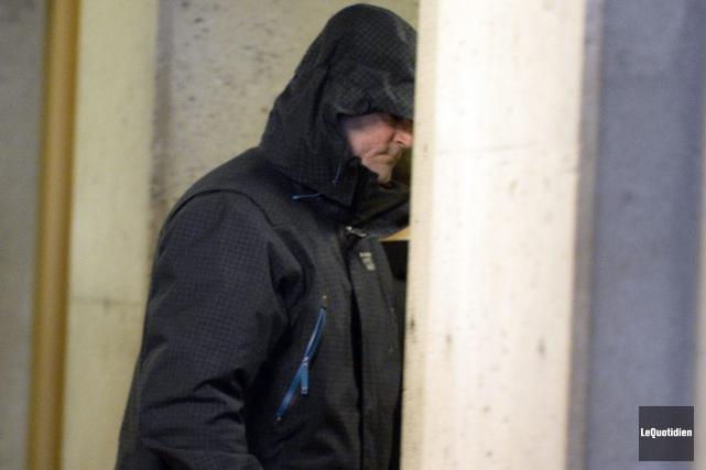 André Gagnon, qui avait plaidé coupable à des... (Photo Le Quotidien, Jeannot Lévesque)