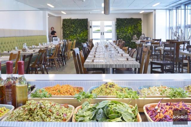 L'aménagement de la salle à manger qui a... (Le Soleil, Jean-Marie Villeneuve)