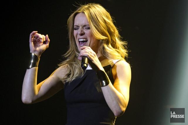 Véronic Dicaire offrira quelques spectacles au Québec cet... (Archives La Presse, Olivier Jean)