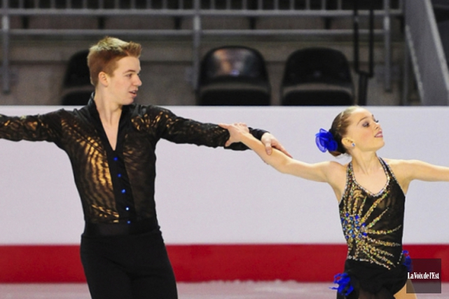 Mathieu Ostiguy et Justine Brasseur participeront au spectacle... (archives La Voix de l'Est)