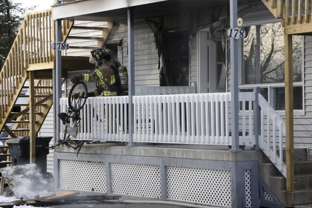 Un incendie s'est déclaré dans un appartement d'un... (Christophe Boisseau-Dion)