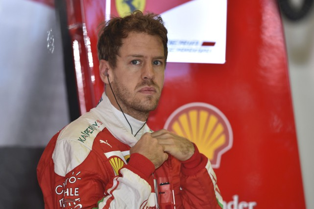 Sebastian Vettel... (AFP, Peter Parks)