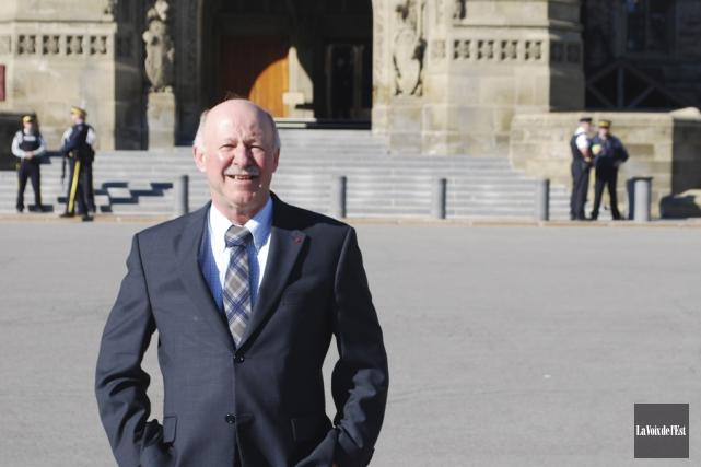 Le député libéral deBrome-Missisquoi,Denis Paradis.... (archives La Voix de l'Est)