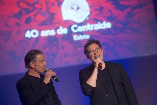 Porte-parole du Show de l'entraide 2016, Vincent Gratton... (Spectre Média, Julien Chamberland)
