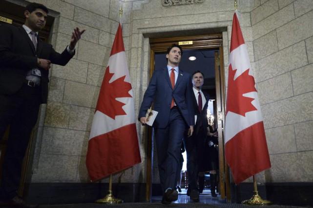 Lepremier ministre canadien Justin Trudeau a répété que... (Sean Kilpatrick, PC)