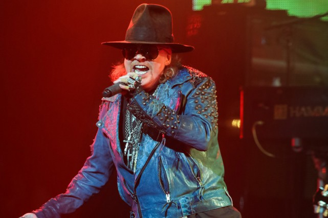 Axl Rose... (PHOTO ARCHIVES AP)
