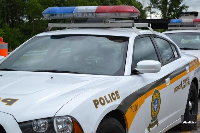 Les policiers de la Sûreté du Québec ont... ((Archives Le Quotidien))