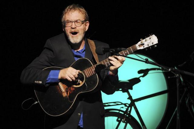 Dick Annegarn en spectacle lors des FrancoFolies de... (PHOTO ARCHIVES AFP)