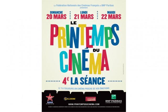 La 17e édition du Printemps du cinéma qui s'est déroulée du 20 au 22 mars a... (PHOTO FOURNIE PAR LE PRINTEMPS DU CINÉMA)