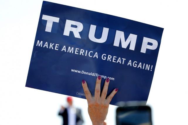La popularité de Donald Trump au sein du... (PHOTO MATT YORK, ARCHIVES AP)