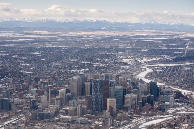 Le marché immobilier de Calgary subit les contrecoups... (PHOTO THINKSTOCK)