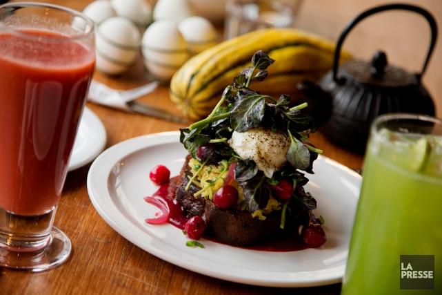 Ma'tine propose des plats inventifs et succulents pour... (PHOTO ALAIN ROBERGE, LA PRESSE)
