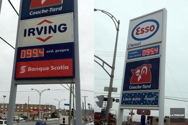 Les automobilistes sherbrookois ne savent plus où donner de la tête tellement... (La Tribune, Alain Goupil)