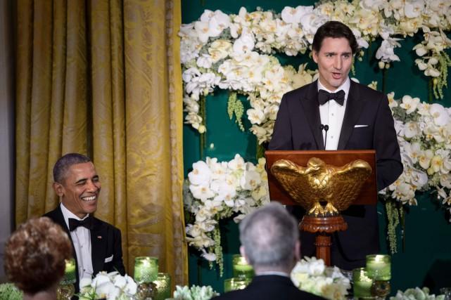 Le premier ministre canadien Justin Trudeau semble avoir... (PHOTO BRENDAN SMIALOWSKI, AFP)