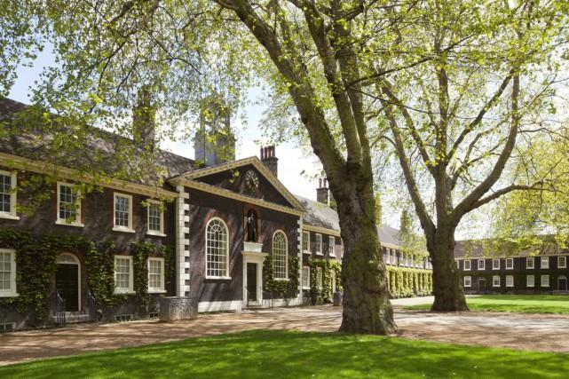 Le musée Geffrye est installé dans un ancien... (PHOTO JAYNE LLOYD, FOURNIE PAR LE MUSÉE)