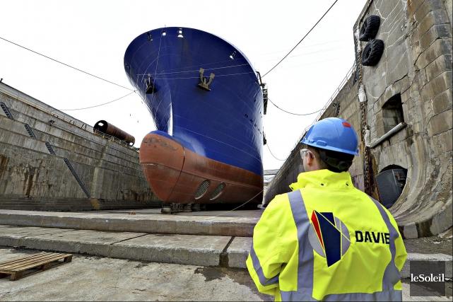 Le chantier Davie... (Photothèque Le Soleil, Patrice Laroche)