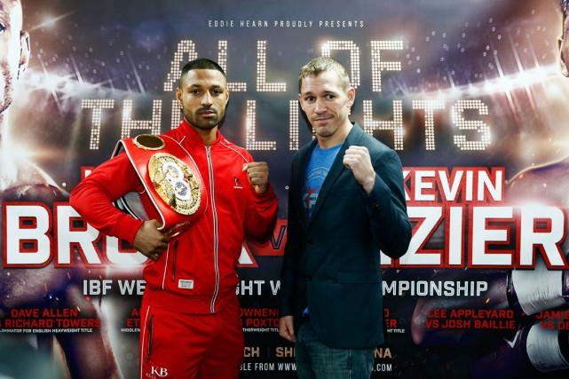 Le boxeur québécoisKevin Bizier (à droite) affrontera le... (Photo Andrew Couldridge, Reuters)