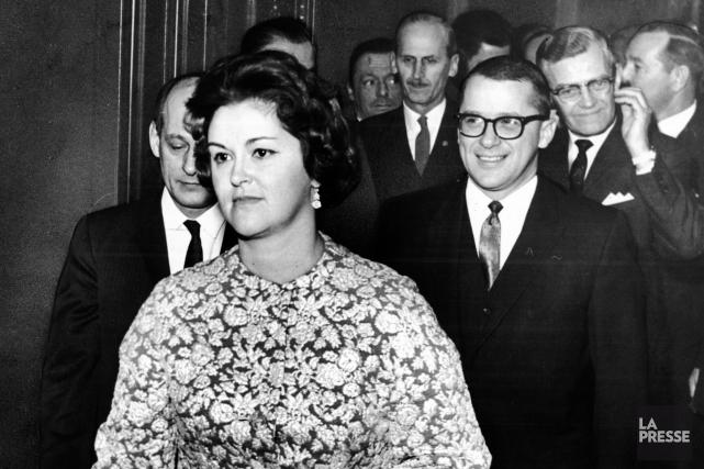 Élue députée en 1961, Claire Kirkland-Casgrain a aussi... (Archives La Presse, Paul-Henri Talbot)