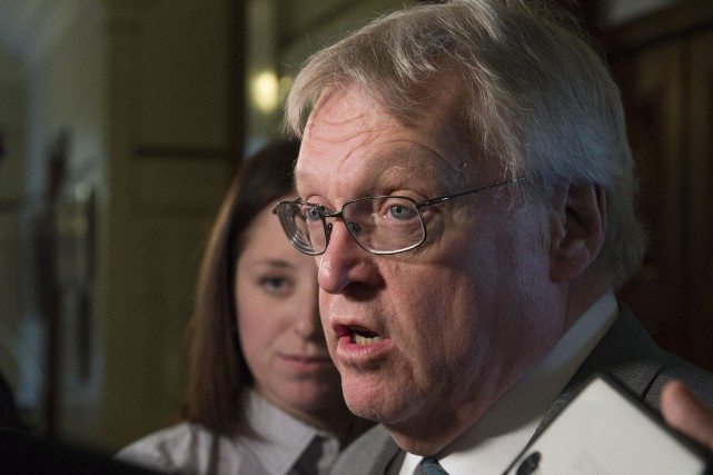 Le ministre de la Santé, Gaétan Barrette.... (PHOTO JACQUES BOISSINOT, LA PRESSE CANADIENNE)