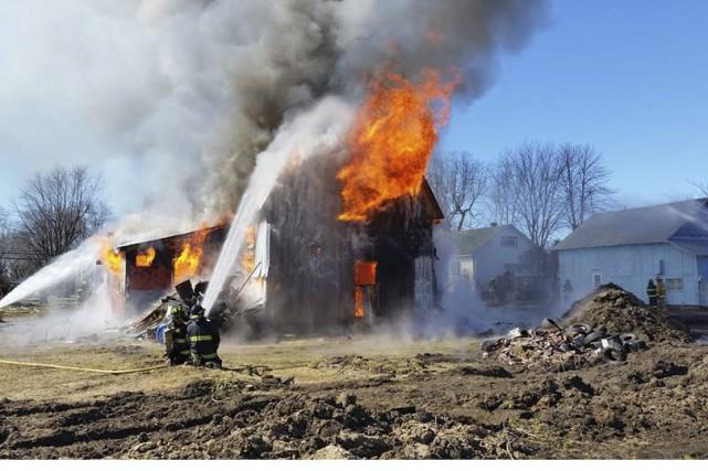 Durant deux mois, les pompiers ont pu procéder... (Fournie par le Service de sécurité incendie de Rougemont)