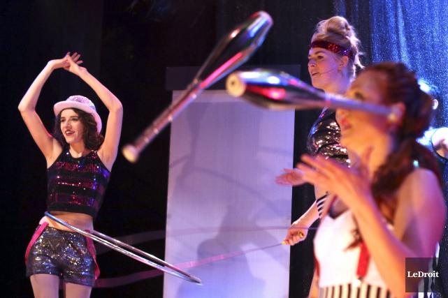 Le Théâtre de l'Île présente le Cabaret Oh... (Patrick Woodbury, LeDroit)