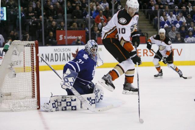 Nazem Kadri a joué les héros en prolongation afin de permettre aux Maple Leafs... (Photo John E. Sokolowski, USA Today)