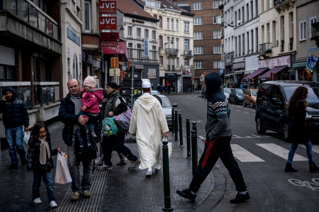 Molenbeek est une commune ouvrière de Bruxelles de... (PHOTO ANDREW TESTA, ARCHIVES THE NEW YORK TIMES)