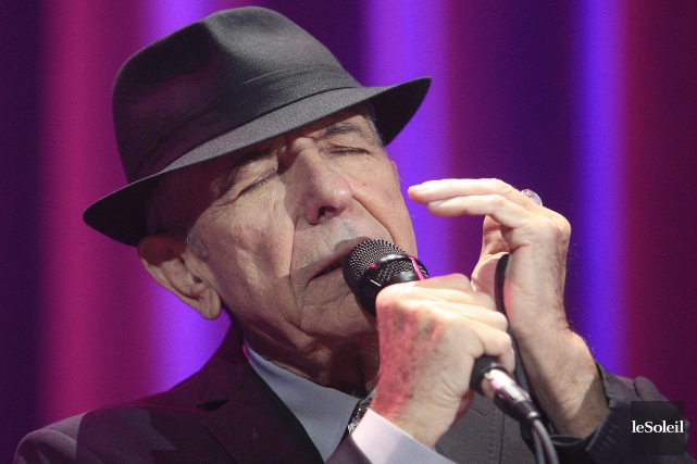 La légende canadienne de la chanson Leonard Cohen a enregistré un nouvel album... (Photo Pascal Ratthé, archives Le Soleil)