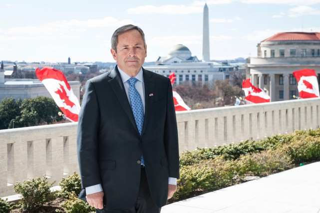 L'ambassadeur David MacNaughton.... (Photo fournie par l'ambassade du Canada à Washington)