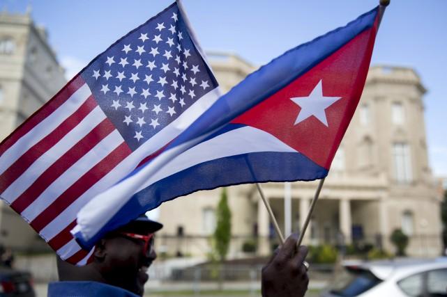 Barack Obama a choisi de prendre, avec Cuba, le risque de la paix plutôt que... (Photo Agence Bloomberg)
