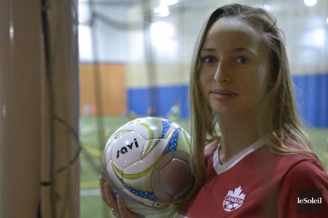 La Lévisienne de 17 ans Gabrielle Carle vit... (Le Soleil, Yan Doublet)