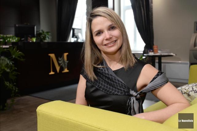 Nancy Lemire, présidente de Tourisme Nicolet-Yamaska.... (Sylvain Mayer, Le Nouvelliste)