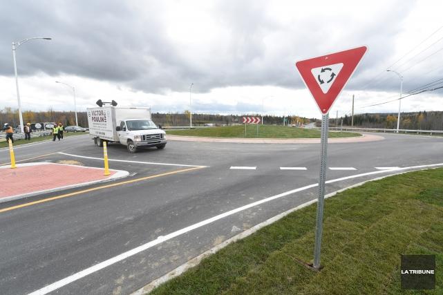 Le prolongement de l'autoroute 410 jusqu'à la route... (Archives La Tribune)