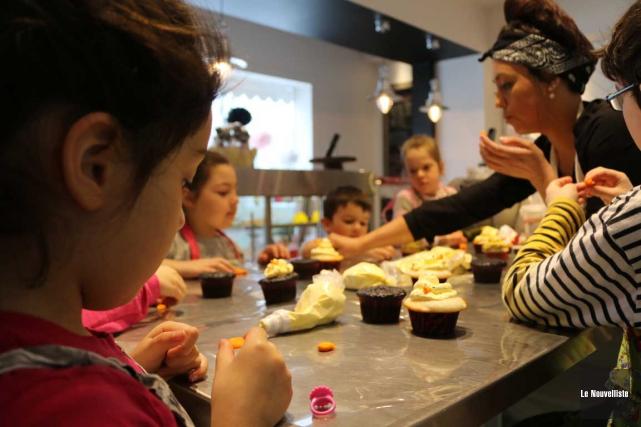 Une trentaine d'enfants ont participé aux ateliers de... (Audrey Tremblay, Le Nouvelliste)