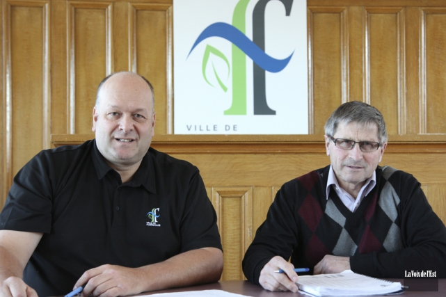 Le directeur général de Farnham, François Giasson, pourra... (Alain Dion, archives La Voix de l'Est)