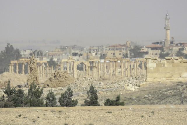 Les forces syriennes ont réussi à reprendre la... (AFP)