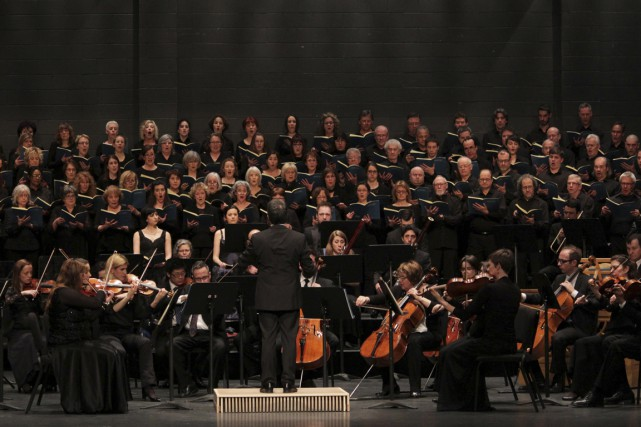 C'est devant une salle comble que l'Orchestre symphonique de Trois-Rivières a...