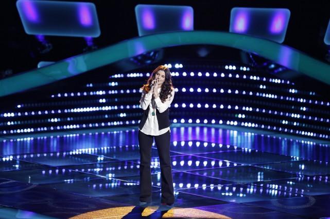 Brittany Kennellest la première Canadienne à être retenue... (PHOTO FOURNIE PAR NBC)