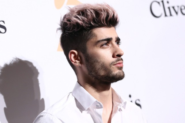 Zayn Malik a lancé son premier album solo... (HOTO JOHN SALANGSANG, ARCHIVES ASSOCIATED PRESS)