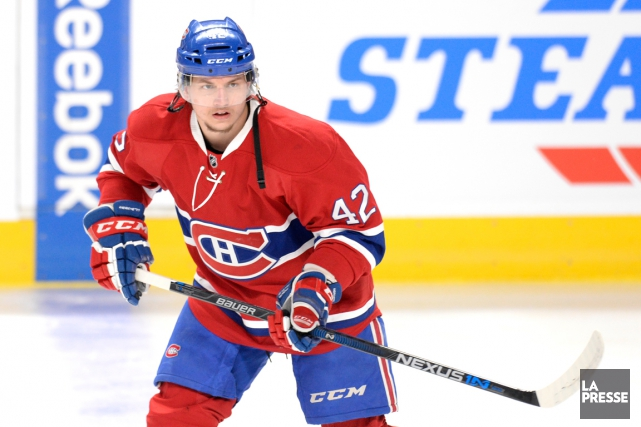 Sven Andrighetto... (PHOTO BERNARD BRAULT, ARCHIVES LA PRESSE)