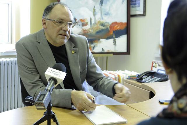 Le directeur général de la Fondation de ma... (Photo Le Progrès-Dimanche, Mariane L. St-Gelais)