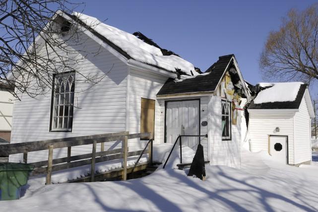 L'église évangélique Saint-Andrew, à Kénogami, a été la... (Photo Le Progrès-Dimanche, Mariane L. St-Gelais)
